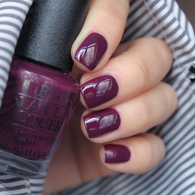 Best 25+ Plum nail polish ideas on Pinterest | Plum nails ...