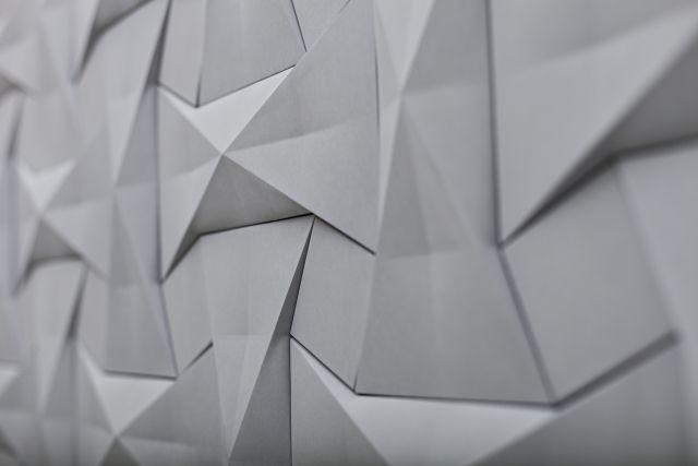 Fliesen Design Von Kaza Concrete: 3D Feinbeton Wandfliesen