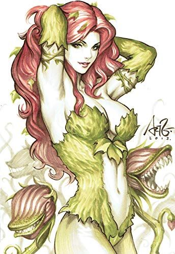 Ivy from Batman #comicbooks