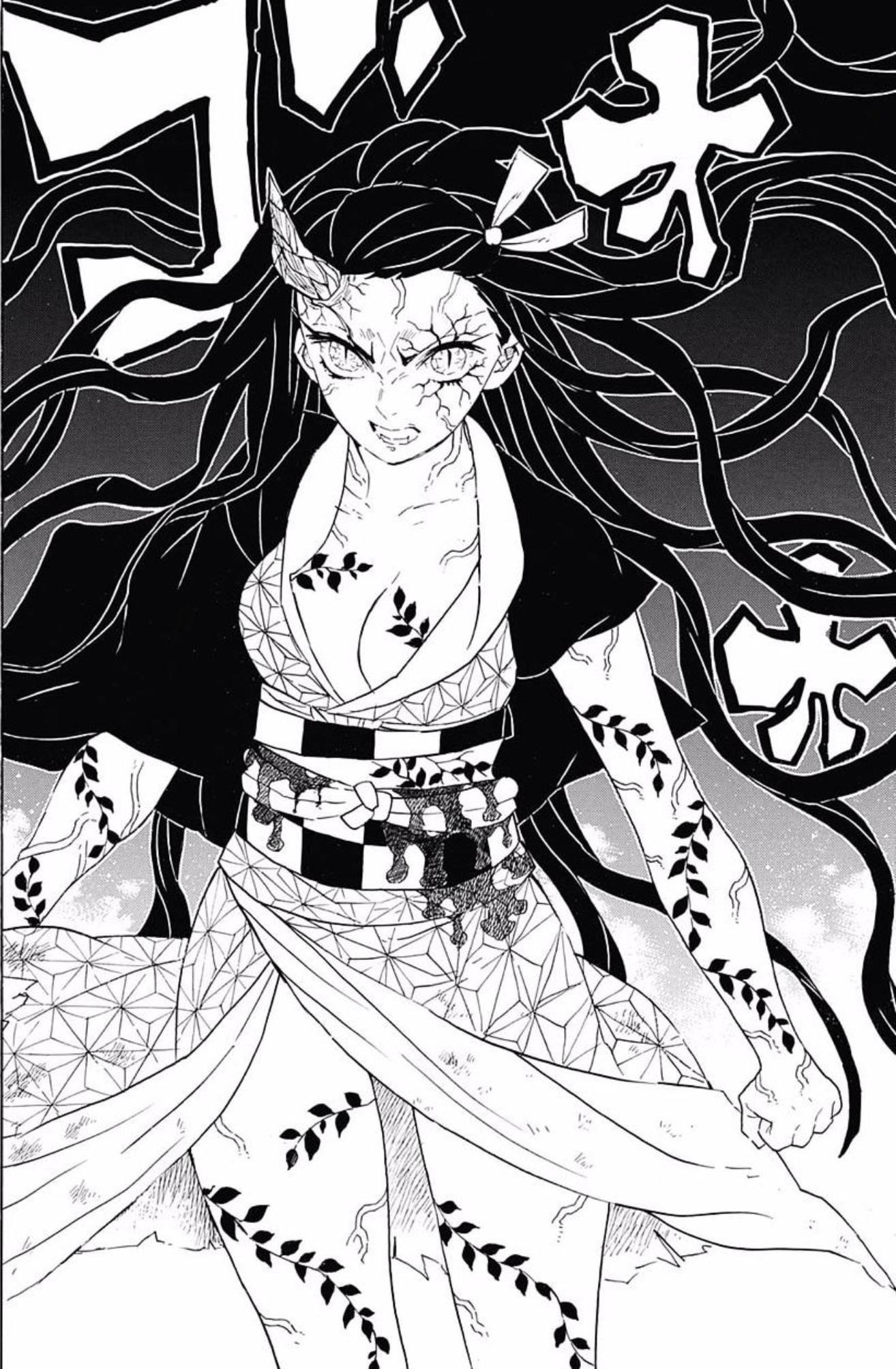 Nezuko KAMADO Anime demon, Anime