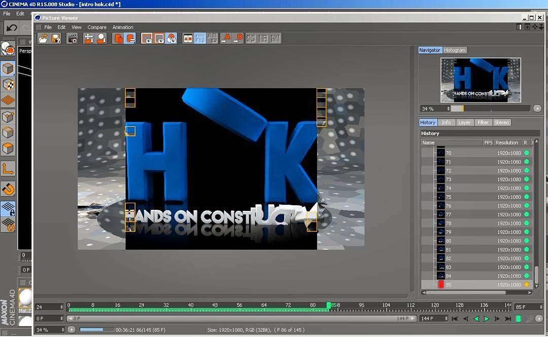 Rendering.. ... 3D Intro for HOK  #c4d #render #editorlife #vfx #cinema4d #rendering #3d #vfxartist #filmmaker # by da_vfx