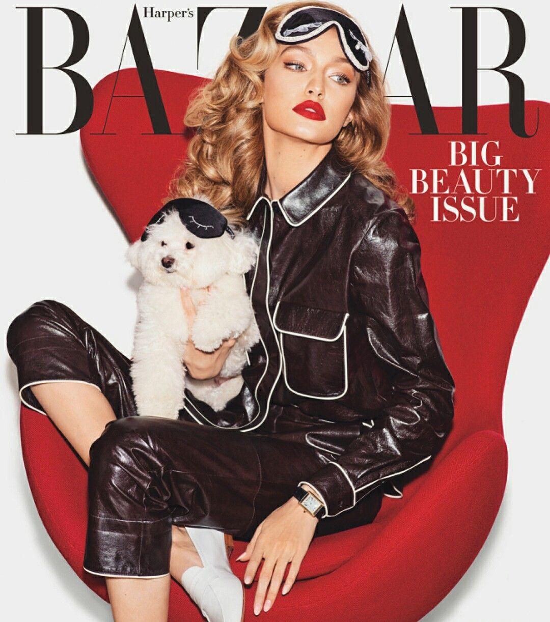 New cover with gigi Supermodels, Editorial fashion, Hadid