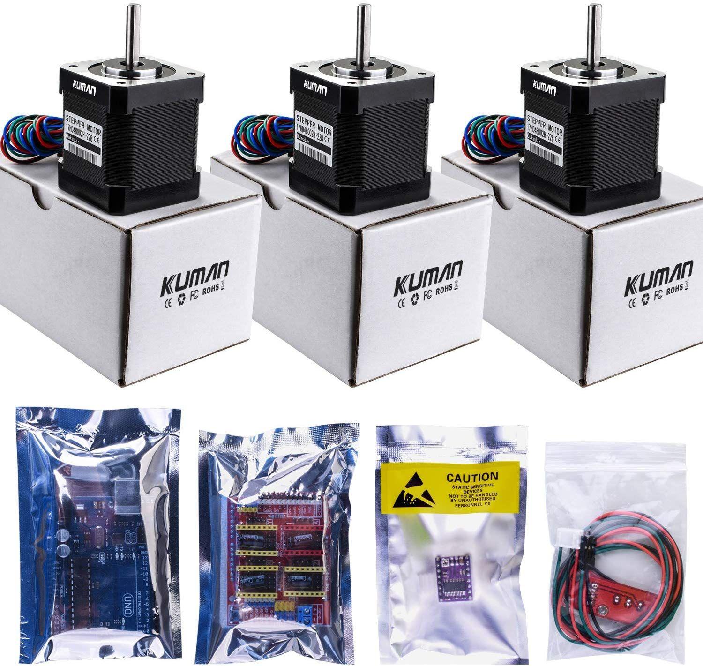 DIY CNC 3D Printer Kit For Arduino Stepper Motor Drive Shield R3 Board Endstop