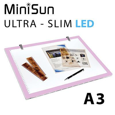 A3 led ultra slim art craft #photo design drawing #light box board