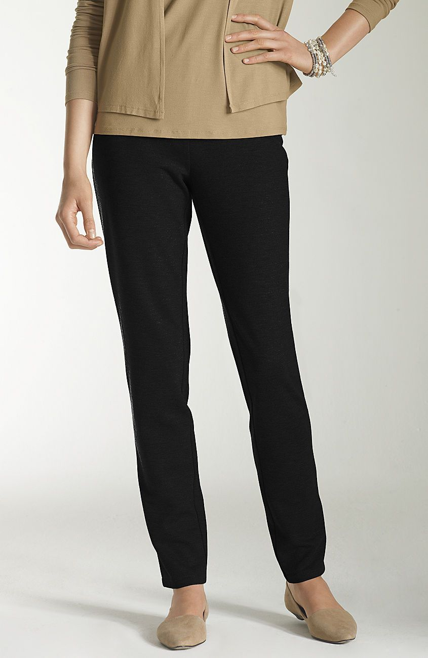 ponteslim leg pants J. Jill Knit pants, Pants, Slim legs