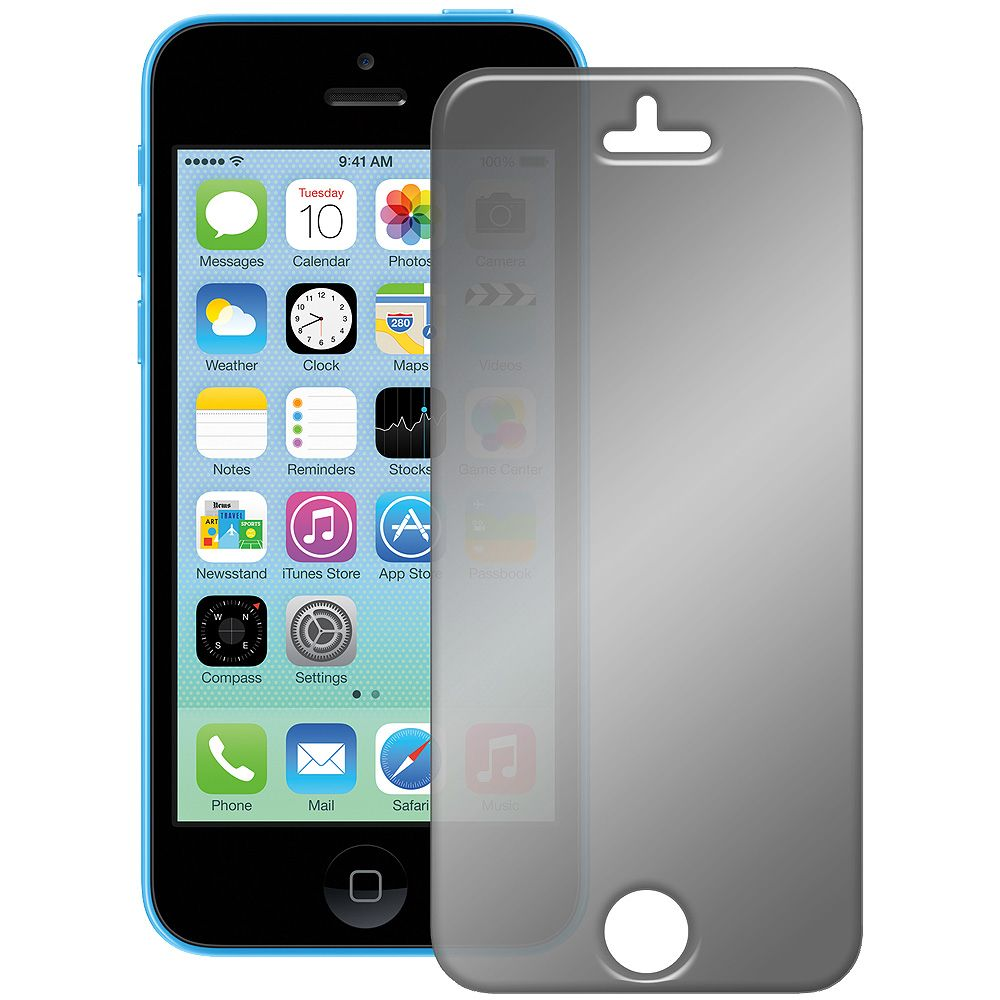 Amzer kristal mirror screen protector with cleaning
