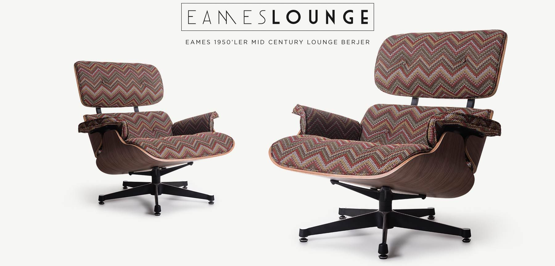 Ray Charles Eames Lounge Chair 1956 Yili Ray Charles Eames Tasarimi Missoni Koltuk Ray Charles Eames Lounge Chair Eames Lounges Furniture