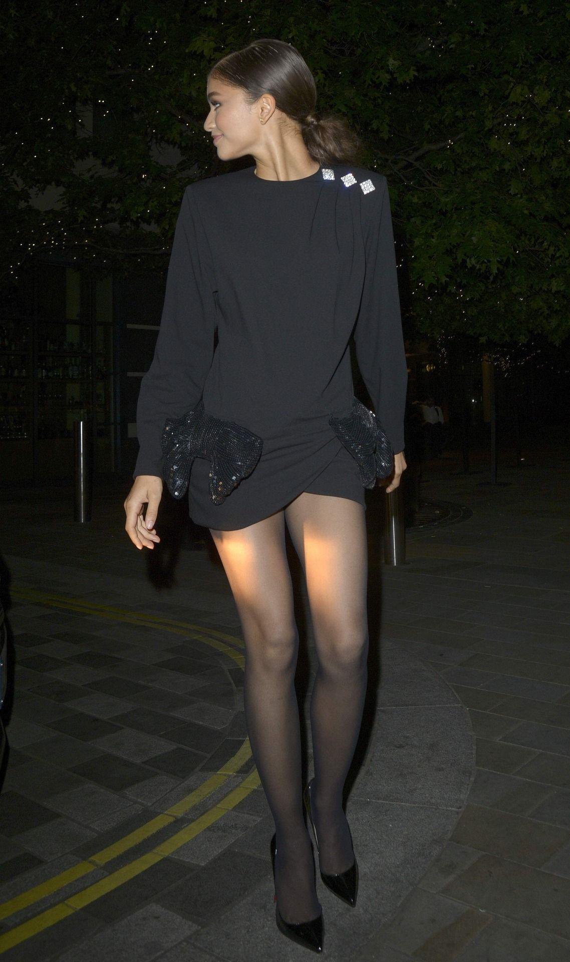 Zendaya In Sheer Stockings Photo Shoot nudes (27 image)