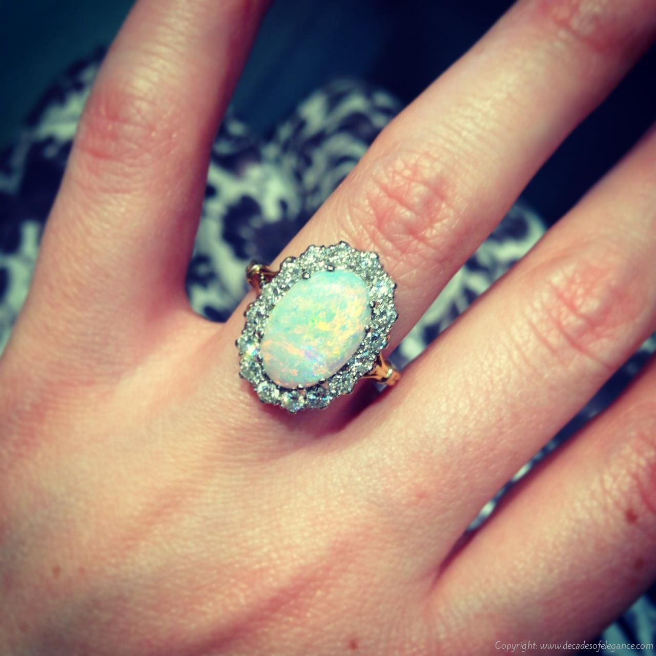 Trends For Black Opal Engagement Rings