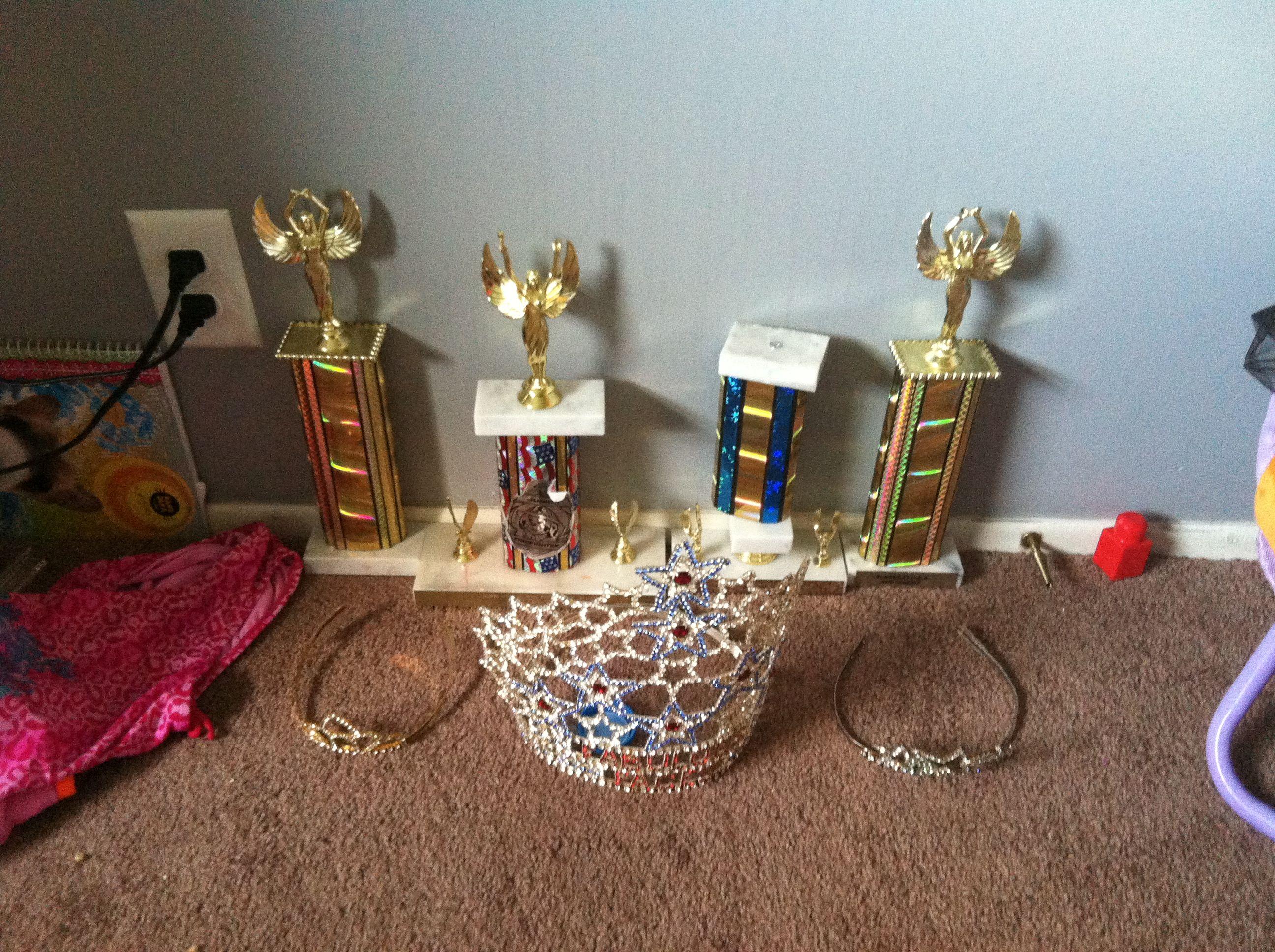 Pageant stuff all mine