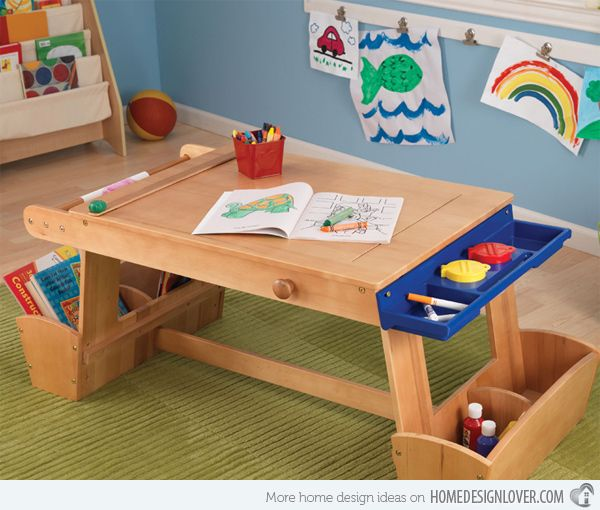 Delicieux 15 Kids Art Tables And Desks For Little Picassos | Home Design Lover