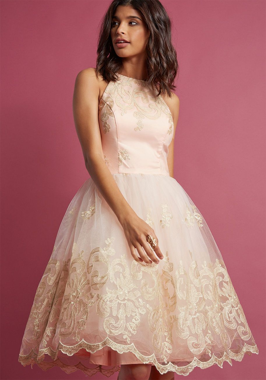 50th wedding anniversary dresses  Chi Chi London Eloquent Admirer Lace Dress  Chi chi ModCloth and