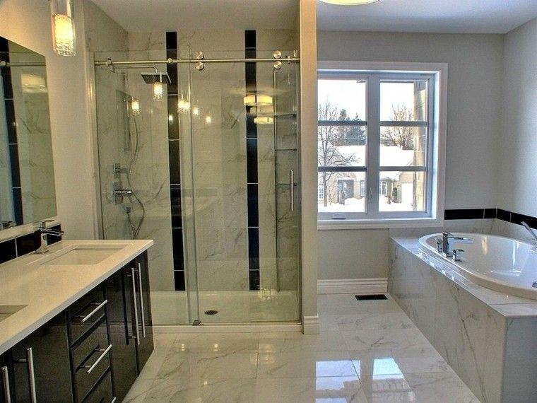 cuartos de baño con marmol calido diseño luces Interiores para - diseos de baos