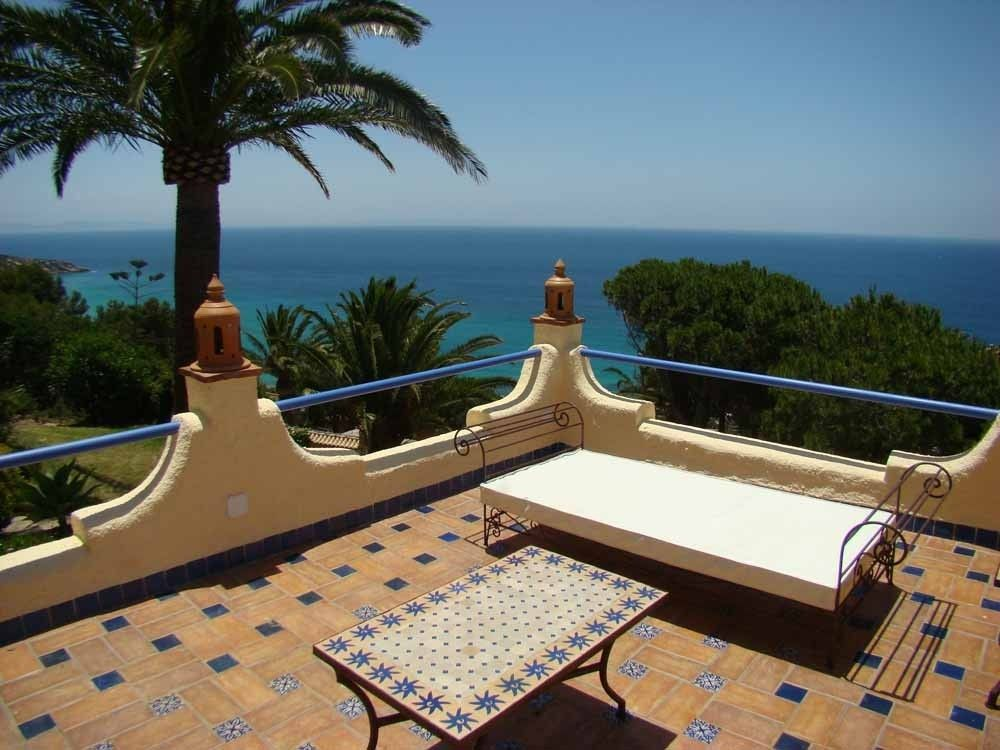 Zahara de los Atunes villa rental - Terrace with views