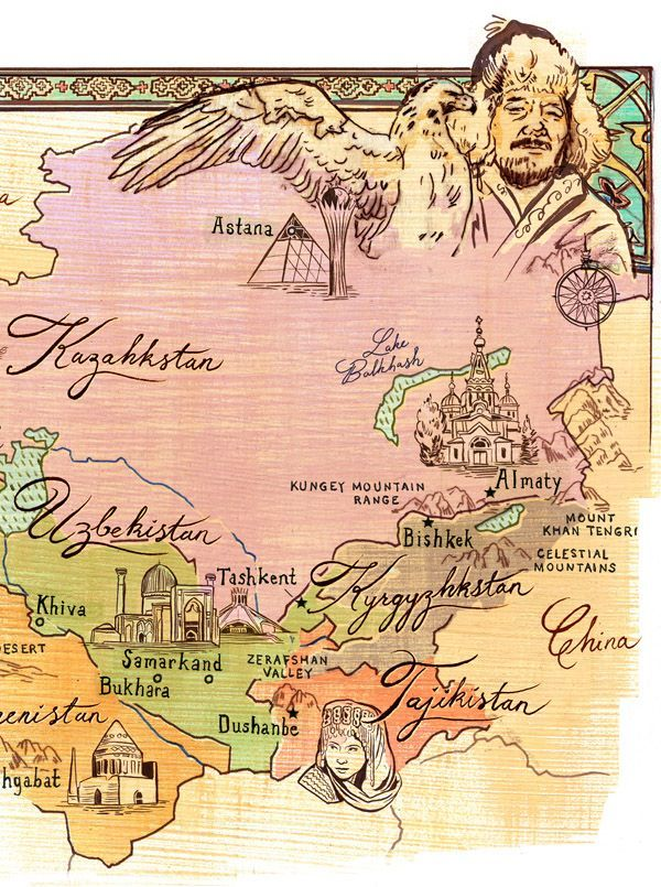 carte de la route de la soie Route de la soie : histoire carte pays traversés | Journaux de