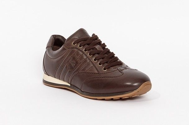 chaussures sport cuir homme