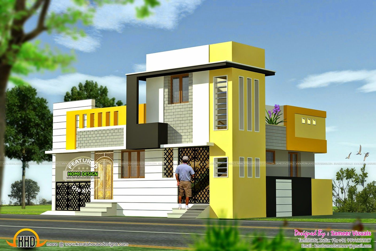 Square Feet House Kerala Home Design And Floor Plans American Style Single  Storied Also Independent Photo