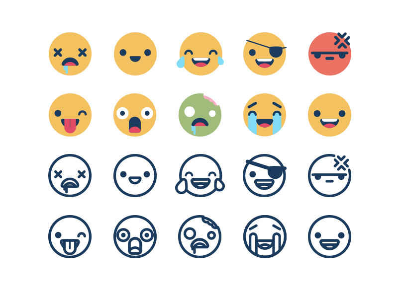 Illustration Graphic Design Blog Illustration Emoji
