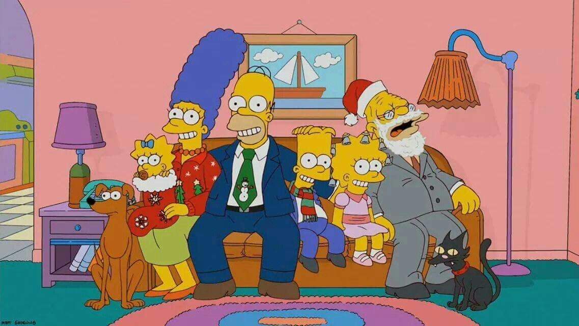Pin By Tricia On Simpsons The Simpsons Simpsons Christmas