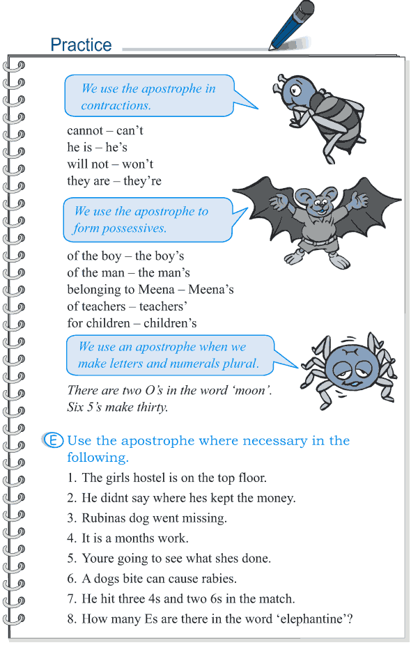 Grade 5 Grammar Lesson 16 Punctuation 9 Worksheets For School