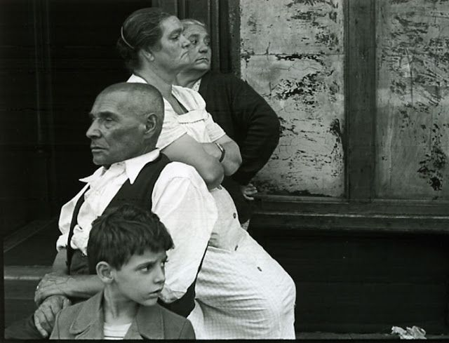 Helen Levitt (American 1913-2009) only worked as a photographer for a short time over two specifically intense periods. The images she captured of children being children and street realism in New York are timeless.