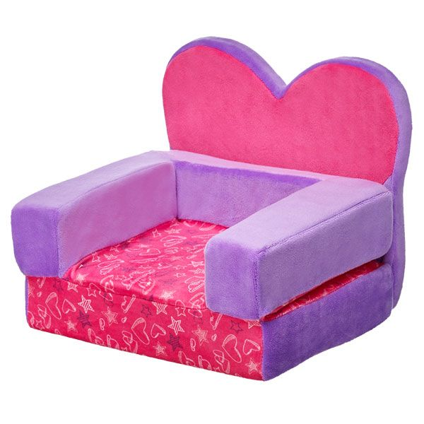 Superb Heart Chair Bed | Build A Bear Pictures