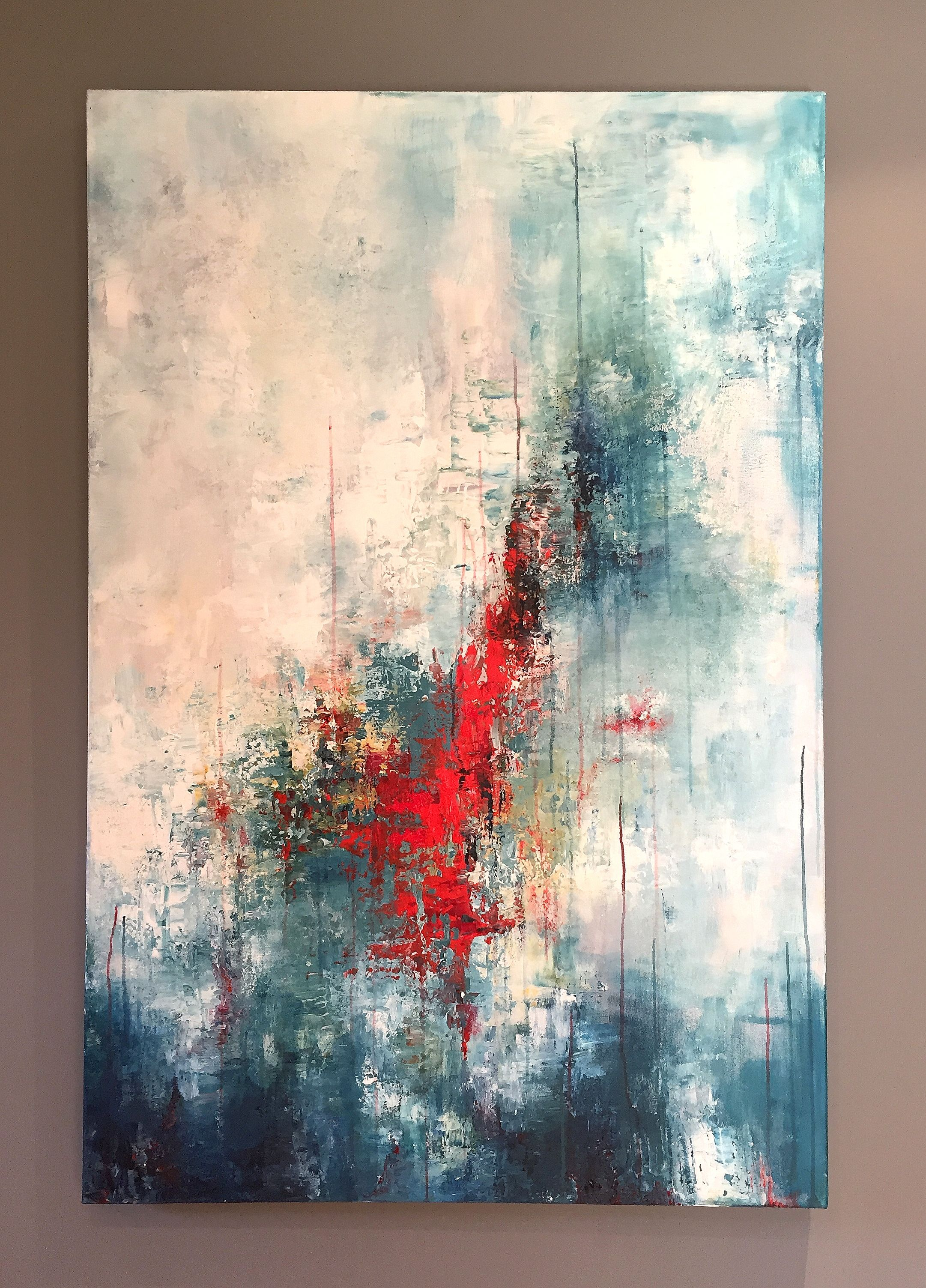 Hallucination - 120 x 80 cm, peinture acrylique