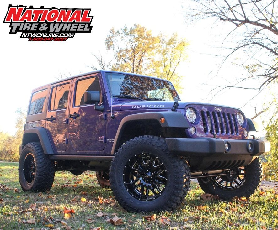 Ntw Install This 2017jeep Wrangler Jk Received A 4in Rough