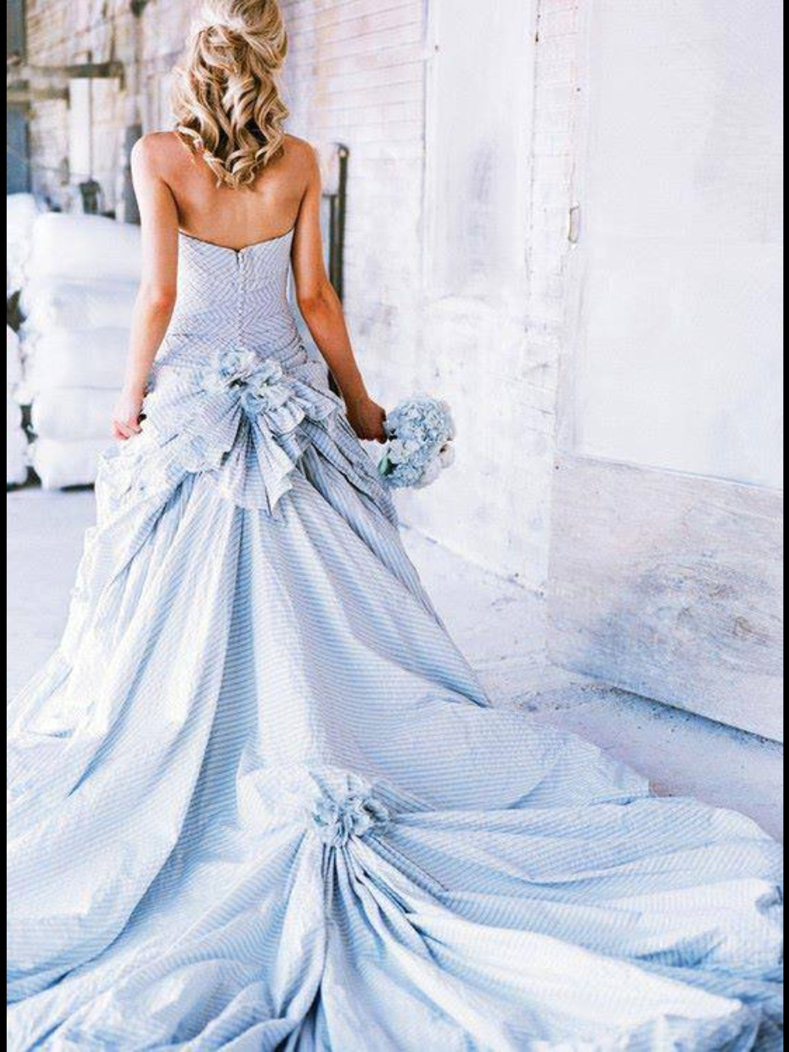 Something blue weddings pinterest gowns and weddings