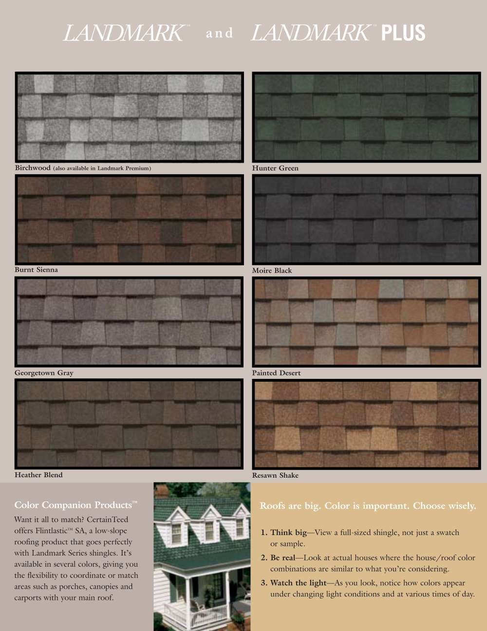 Certainteed Roofing Certainteed Landmark Series Premium Shingles