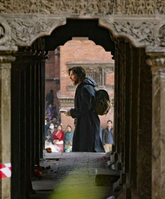 Ben on The Dr Strange set - 7th November 2015 Nepal
