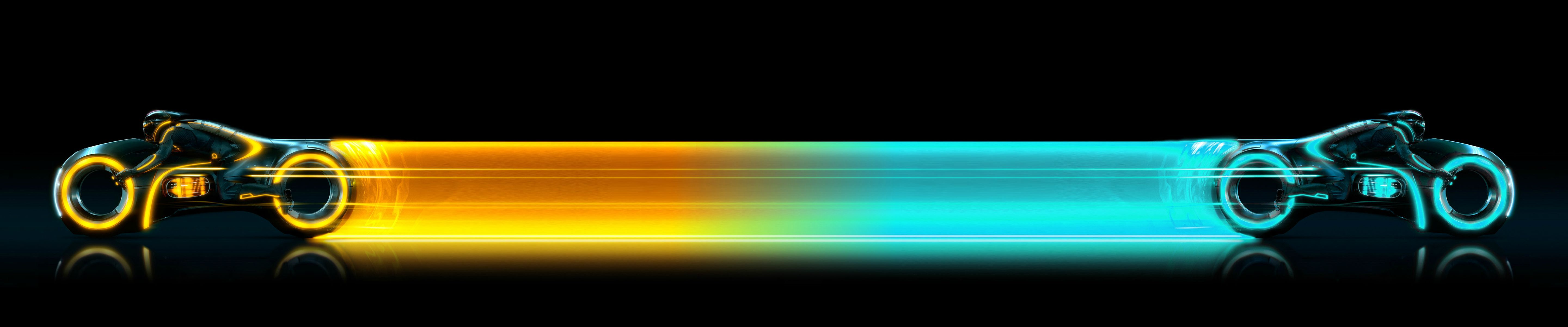 Tron Legacy Eyefinity Wallpapers Wsgf Dual Monitor Wallpaper Hd Widescreen Wallpapers Hd Cool Wallpapers