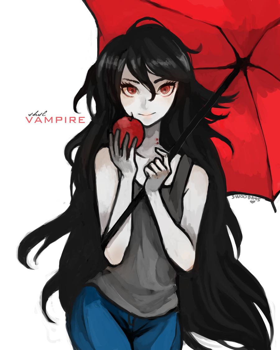 SHSL Vampire By Sannanaideviantart On DeviantART