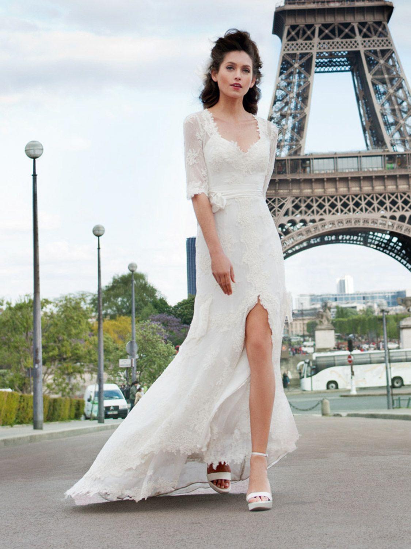 Vera wang plus size wedding dresses  silk and chiffon wedding dress oyster pink  Google Search  Things