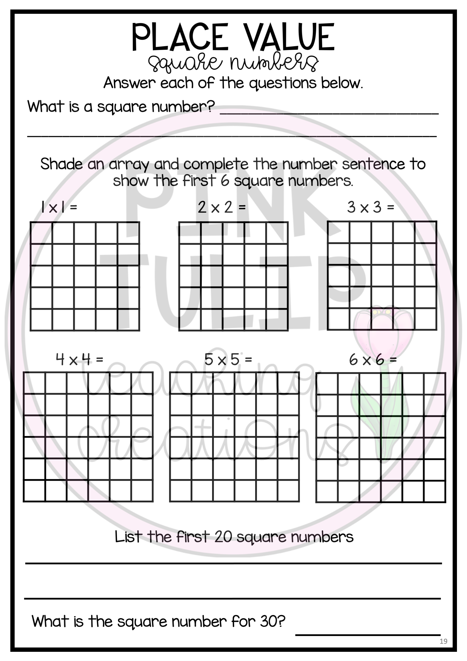 Pin On Numeracy Resource Samples