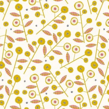 Rachel Cave - Bloom - Daisies Gold | buy in-store and online from Ray Stitch