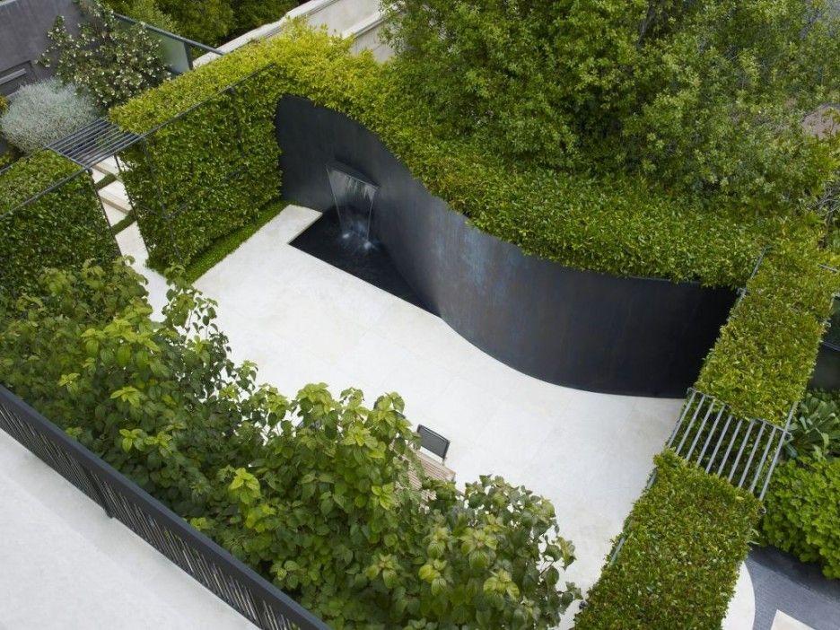 white modern stucco fence design Google Search delancy park