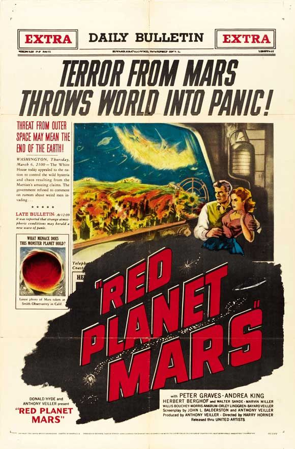 Science Fiction 1950 1959 100 Years Of Movie Posters 11