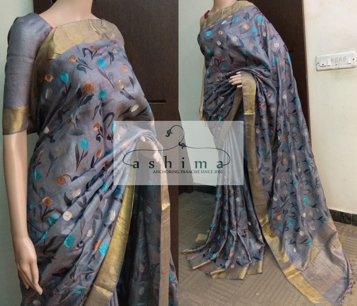 Silk saree below 2000 tussar silk saree   saree silk sarees and elegant saree