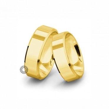 Βέρες γάμου Saint Maurice Classic κίτρινος χρυσός πλάτους 7.5mm επίπεδες εξωτερικά & ανατομικές | Βέρες αρραβώνα Saint Maurice ΤΣΑΛΔΑΡΗΣ στο Χαλάνδρι #SaintMaurice #βερες #γαμου #χρυσος #rings
