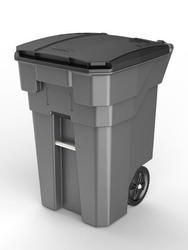 65 Gallon Suncast Commercial Wheeled Trash Can Outdoor Trash Cans