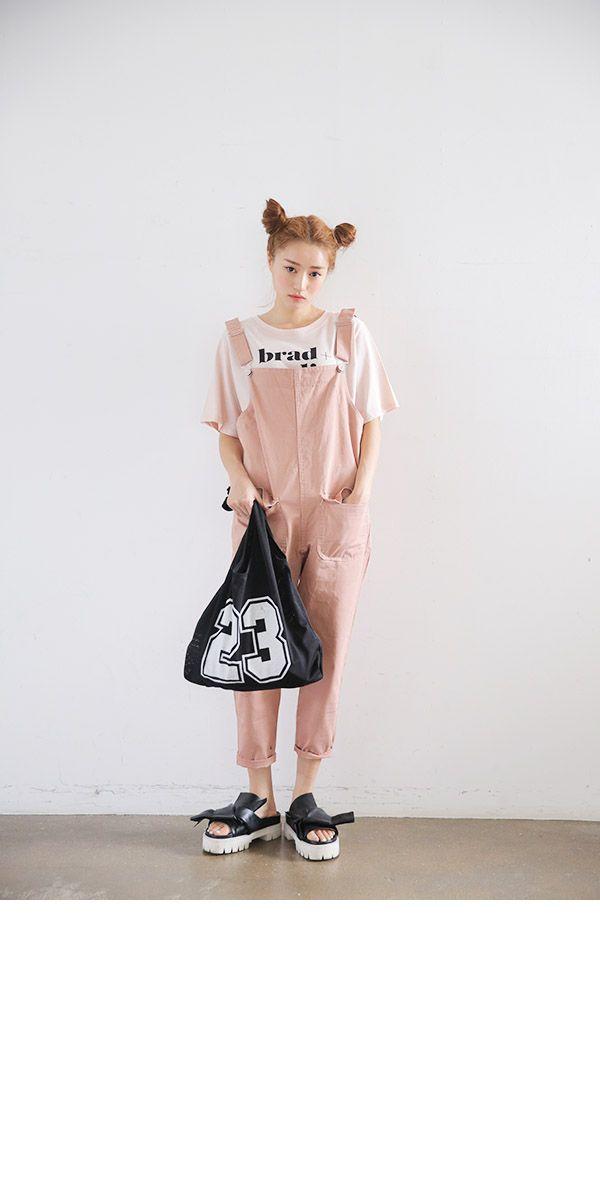 Pink Girly Overalls   STYLENANDA