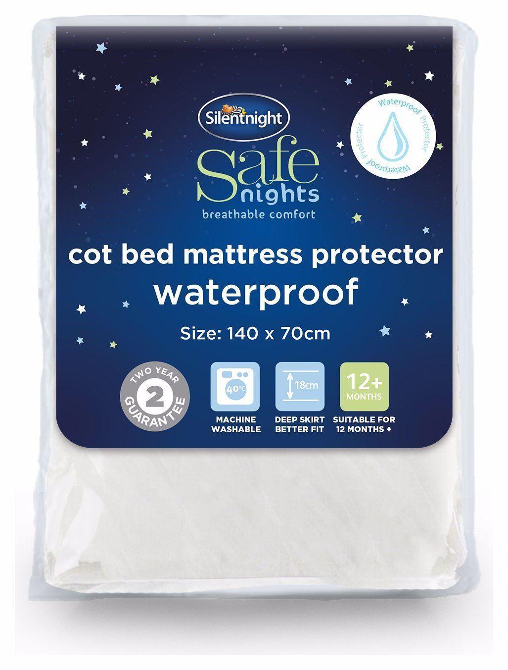 Silentnight Quilted Waterproof Mattress Protector Toddler In 2020 Silentnight Mattress Protector Waterproof Mattress
