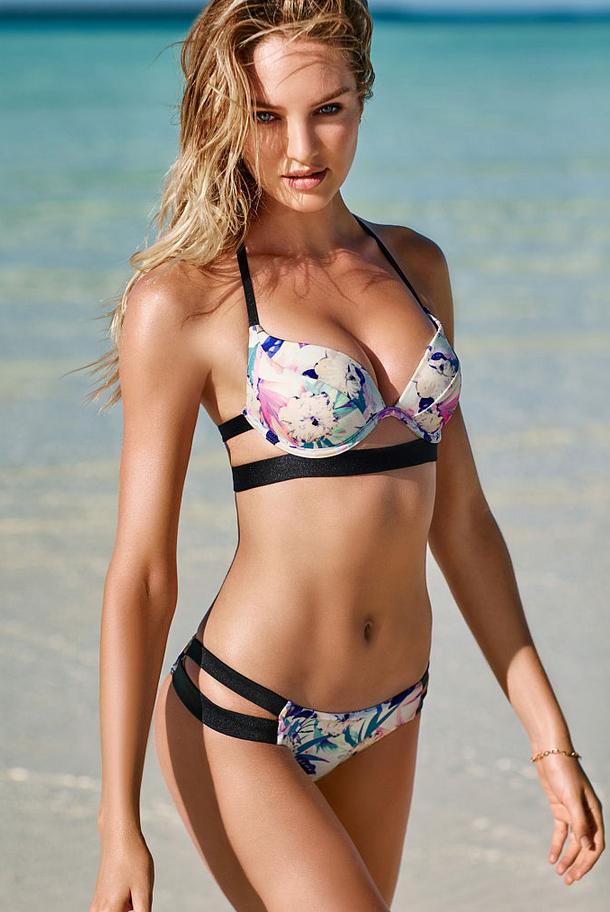 6617cf00edb98 Candice Swanepoel for Victoria's Secret Swim 2015   Summerr vibes in ...