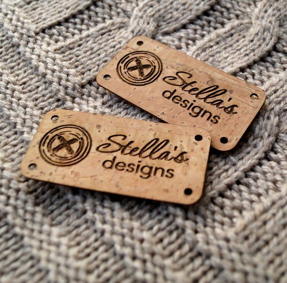 f5d7d077d8b2f Vegan clothing labels, custom labels, knitting labels, personalized ...