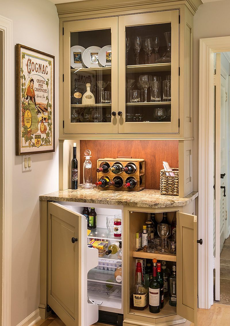20 Small Home Bar Ideas And Space Savvy Designs Kitchen Bar