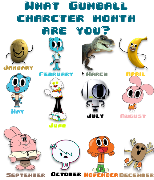 The Amazing World Of Gumball Characters Names Google Search World Of Gumball The Amazing World Of Gumball Gumball