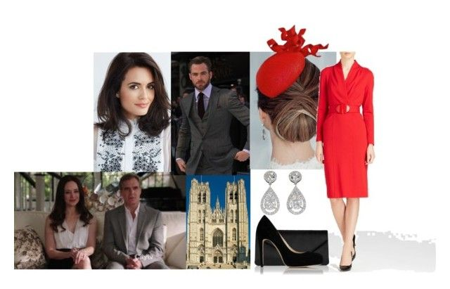 """""""Attending a Church Service Prior to the Abdication Service of King Leopold of Belgium"""" by amelia-of-scotland ❤ liked on Polyvore featuring Armani Collezioni and Beauty Secrets"""
