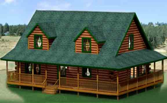 Google Image Result For Http Cedarknollloghomes Com Wp Content Uploads 2011 05 Country V Porch House Plans Wraparound Porch House Plans Craftsman House Plans