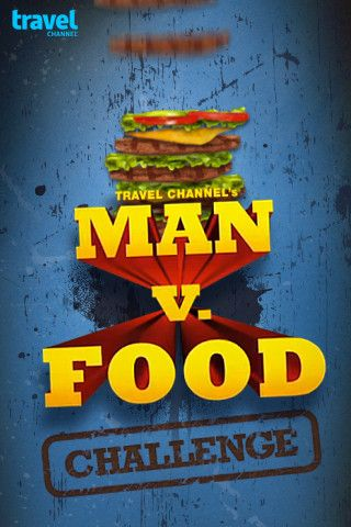 Man v Food Challenge    Travel Channel's Man vs. Food host Adam Richman has traveled America in search of the perfect eating challenge! Now you can enjoy Adam's favorite tasty challenges. Nosh down burgers, pizza, and other delicious treats until you pop. Build the tallest stack and then scramble to eat it all before time runs out!     http://itunes.apple.com/us/app/man-v-food-challenge/id443135764
